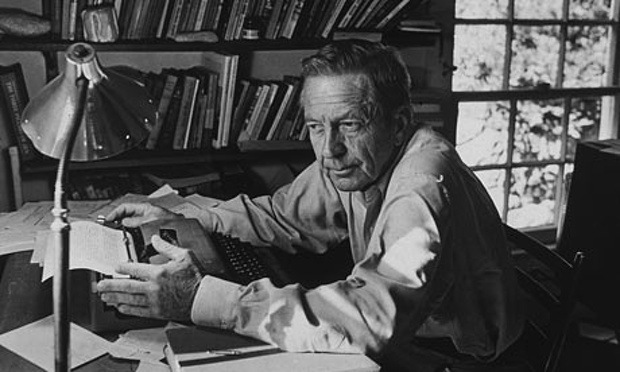 John Cheever at home in Ossining, New York, 1979. Photograph: Paul Hosefros/Getty Images